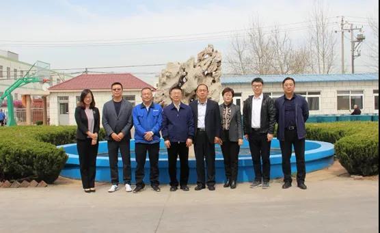 青岛市科技局局长吕鹏莅临公司调研指导工作