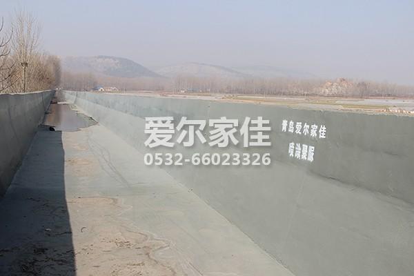 灌溉水渠聚脲防水