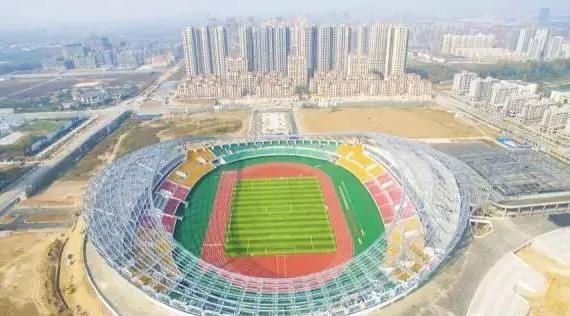 河南驻马店市体育中心聚脲防水应用案例