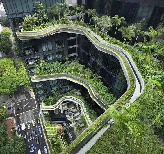 聚脲防护体系——种植屋面防护的最佳选择